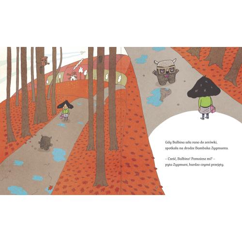 Balbina i Bambak. Pralka w lesie